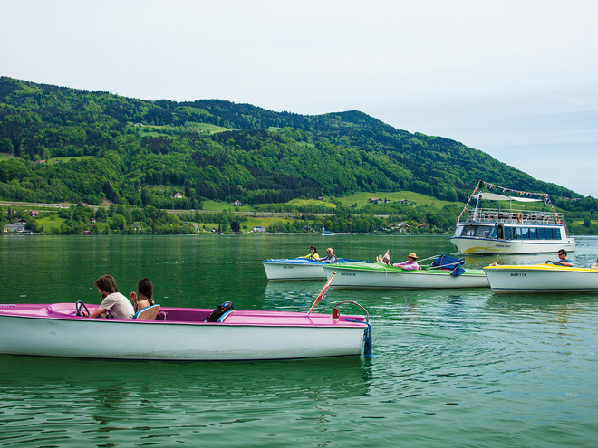 Mondsee boot-rental Hemetsberger