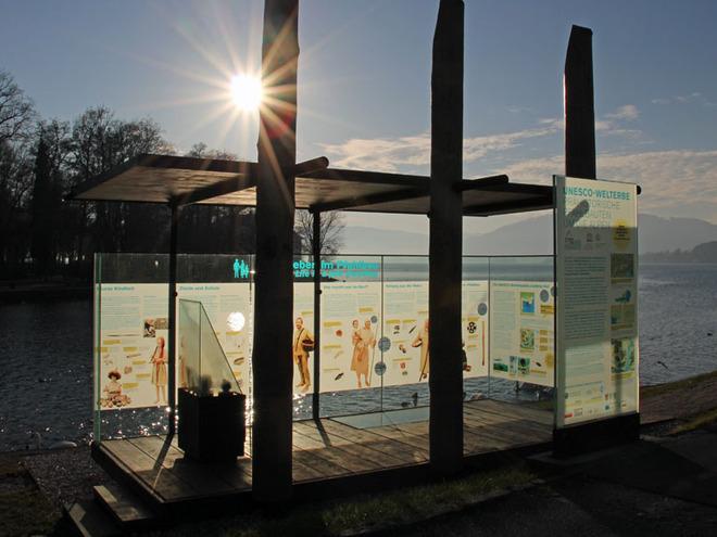 Abenteuer Pfahlbau - Pavillon Seewalchen