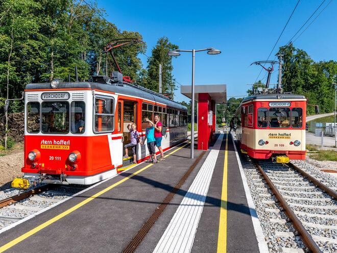 Vorchdorferbahn 160 - Vorchdorf Eggenberg - Lambach - Stern & Hafferl