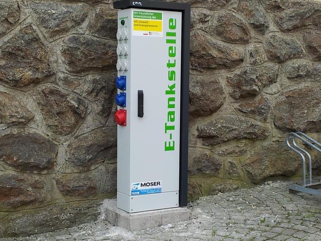 E-Ladestation für Fahrräder