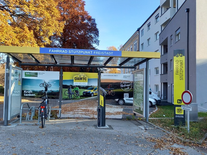 E-Bike Ladestation Freistadt