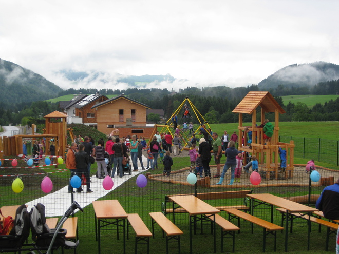 Children´s playground in Faistenau