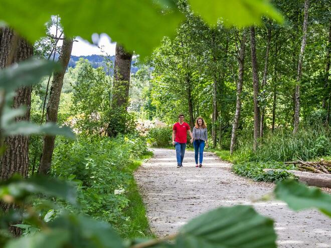 Stiftergarten - Böhmerwaldpark
