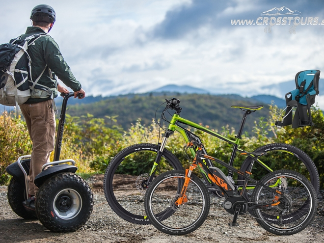 CROSSTOURS AT - SEGWAY & E-MOUNTAINBIKE TOUREN & VERLEIH - Altenberg bei LINZ