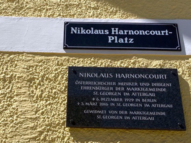 Nikolaus Harnoncourt Platz