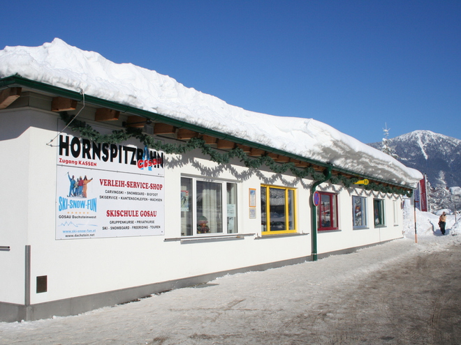 ski rental in Gosau