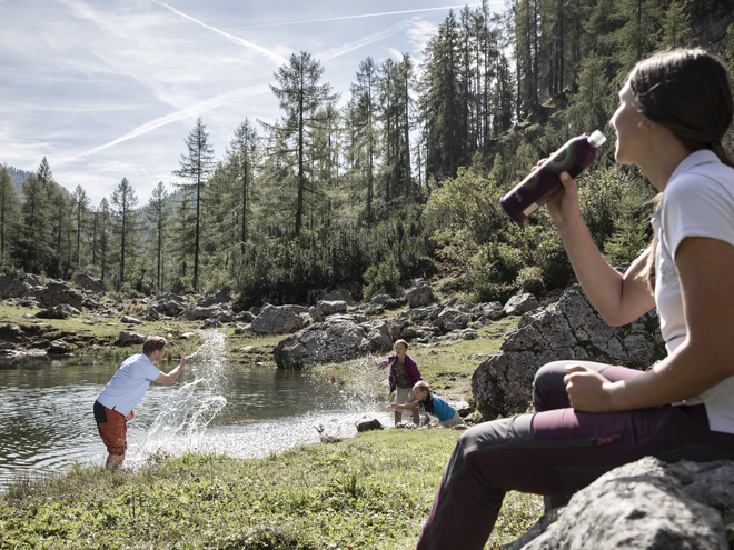 Wurzeralm - Brunnsteinersee am Teichlboden
