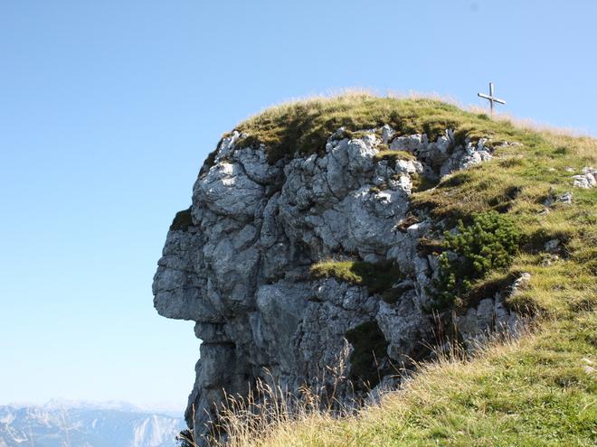 Weg auf den Hohen Kalmberg