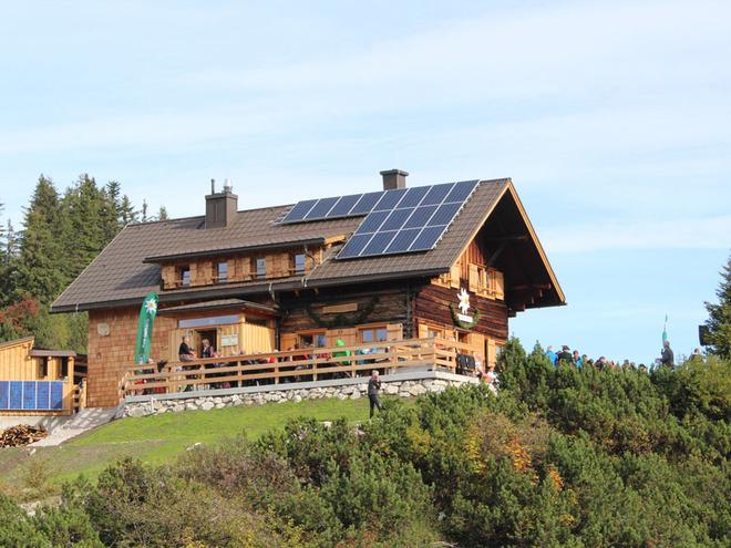Goisererhütte und Hoher Kalmberg