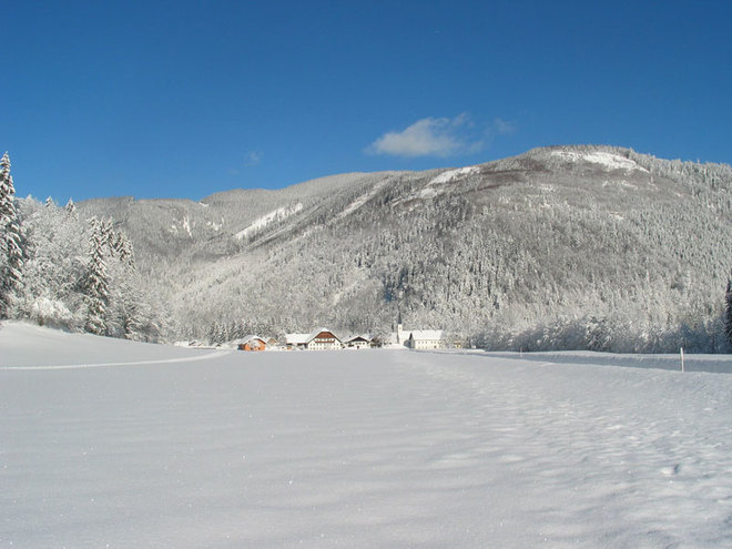 Hintersee - village cross country skiing trail