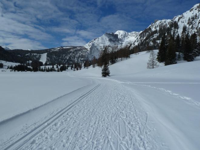 Bežkarská trasa Wurzeralm Höhenloipe