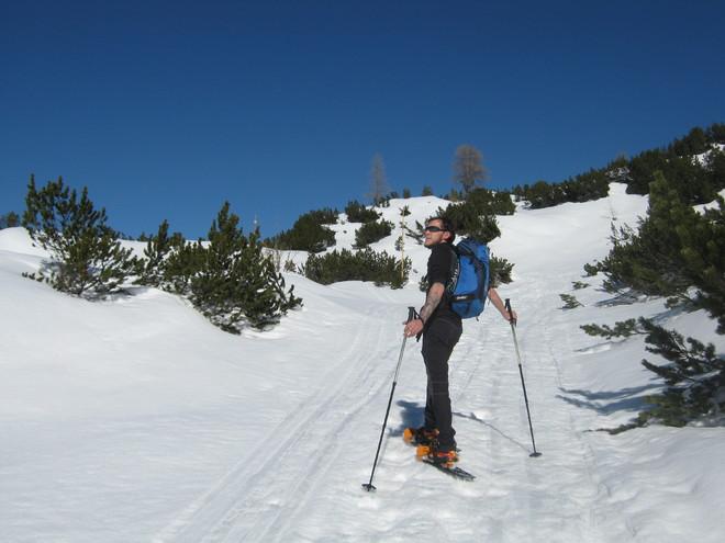 Schneeschuhwandern am Krippenstein