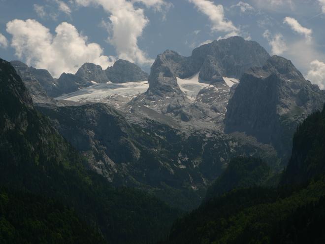 Weg auf den Dachstein Gipfel