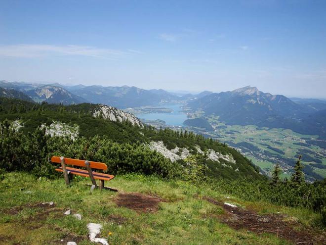 Gasthof zur Wacht (520 m) – Katrin Bergstation (1616 m)