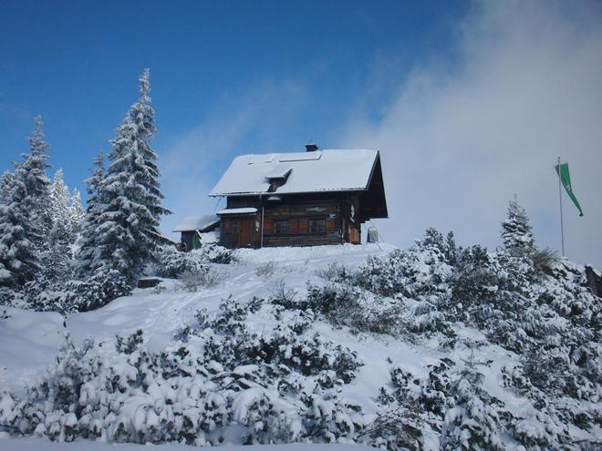 Ski- und Schneeschuhtour auf die Goisererhütte