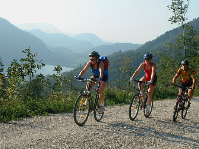 Mountainbike-Strecke (© Tourismusverband Faistenau)