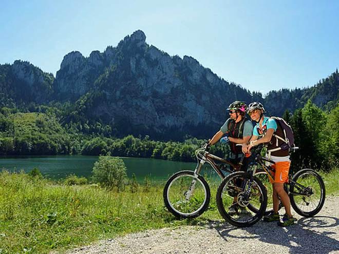 Mountainbike Strecke Gmunden - Laudachsee - Altmtal (© brainpark/ MTV Ferienregion Traunsee)