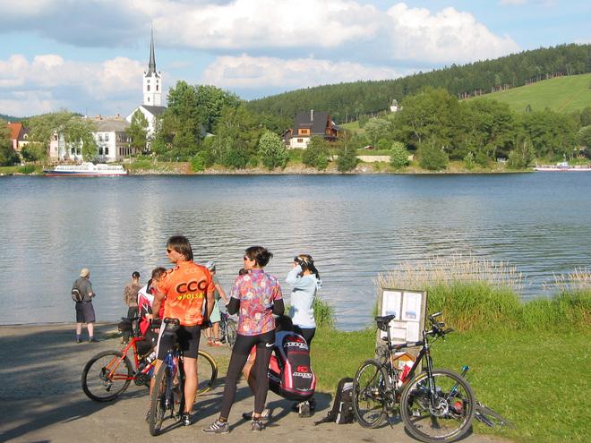 Rennradtour rund um den Moldaustausee