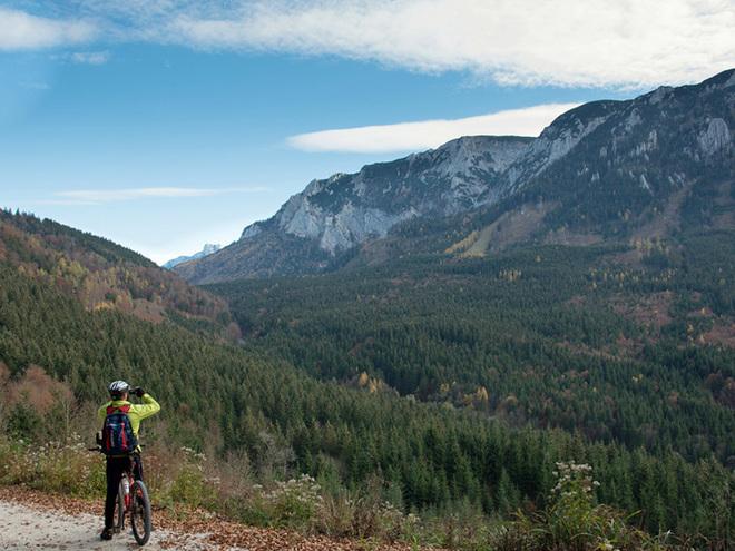 Rund um das Höllengebirge - Mountainbiketour
