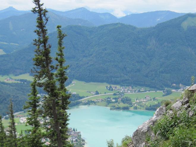 BergeSeen Trail Etappe 05: Mondsee - Fuschl am See