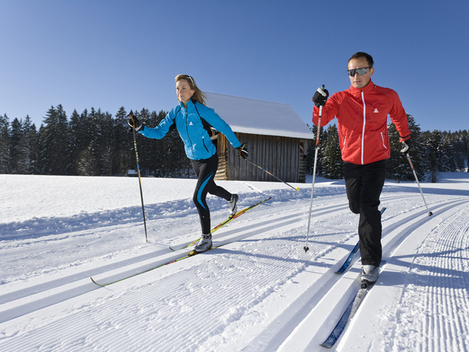 Freiberg cross-country ski-track (T1)
