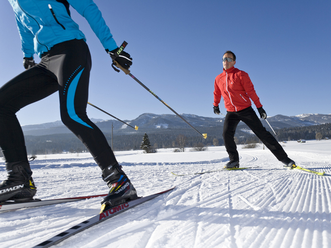 Kulm cross-country ski-track (M1)
