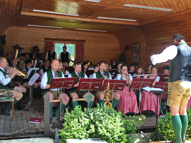Concert with the Brass Band Gosau