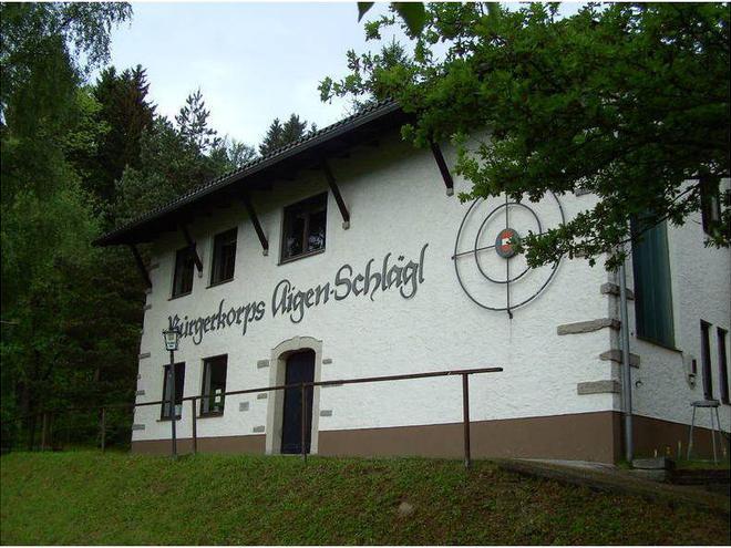 Schießbetrieb Schützenhaus