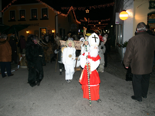 Krampus Run for Children