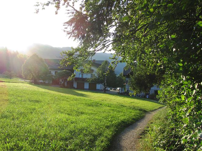 Krapfenbacken in der Erlachmühle