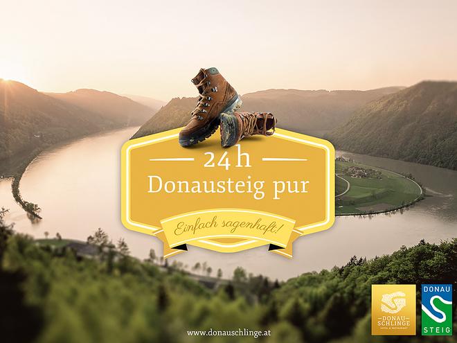 Einfach sagenhaft! 24 Stunden Donausteig pur - rund um die Schlögener Schlinge!