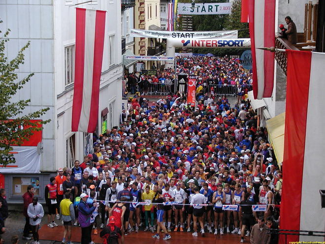 Welcome for all Participants of the 46th International Wolfgangsee Marathon