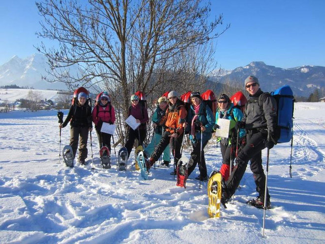 Schneeschuhwandern im Familienskigebiet Kasberg