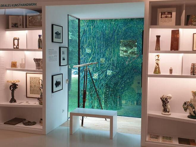 Sommerführungen im Gustav Klimt-Zentrum