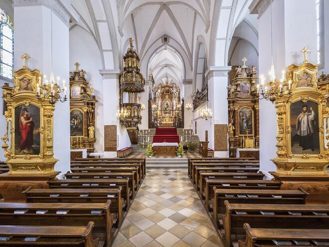 Gottesdienst Stift Schlägl am Ostermontag