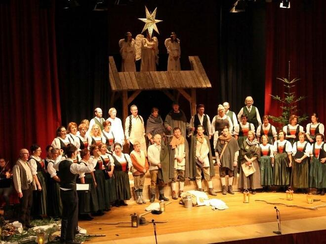 Advent concert of singing circle Windischgarsten