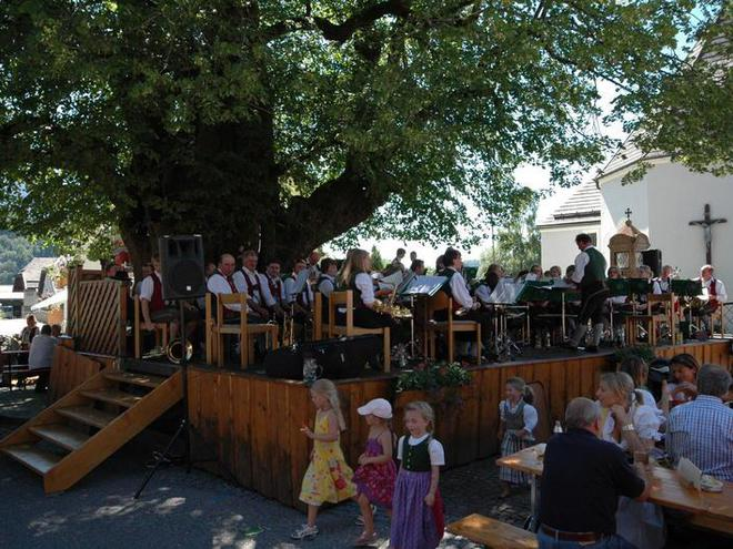 Day of the local brass band