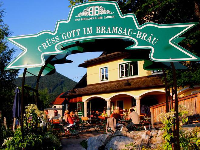 Visit the private brewery Bramsau Bräu