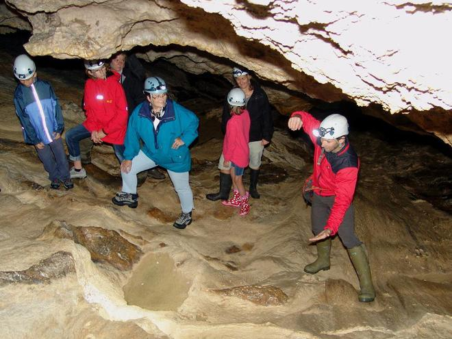 By caves hidden waters, guided cave tour