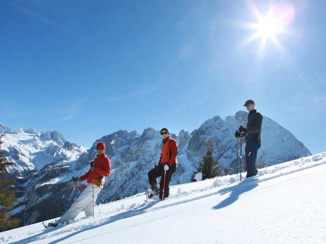 Dachstein - West Schneeschuhwanderung