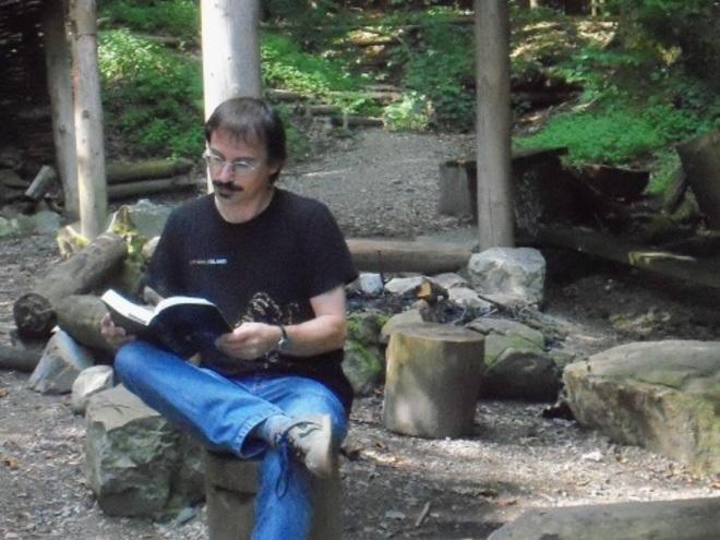 Lesewanderung mit Autor Christian Hinterauer auf dem Kelten.Baum.Weg