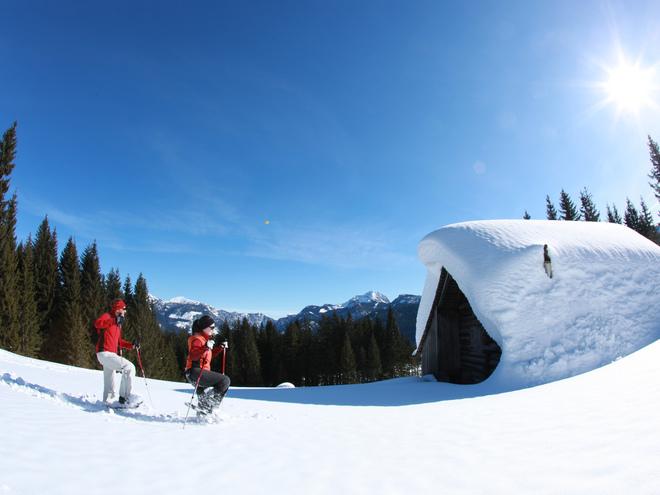 Schneeschuhwanderung - Bibereck