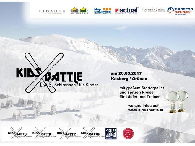 Kids X Battle - das Skirennen für Kinder
