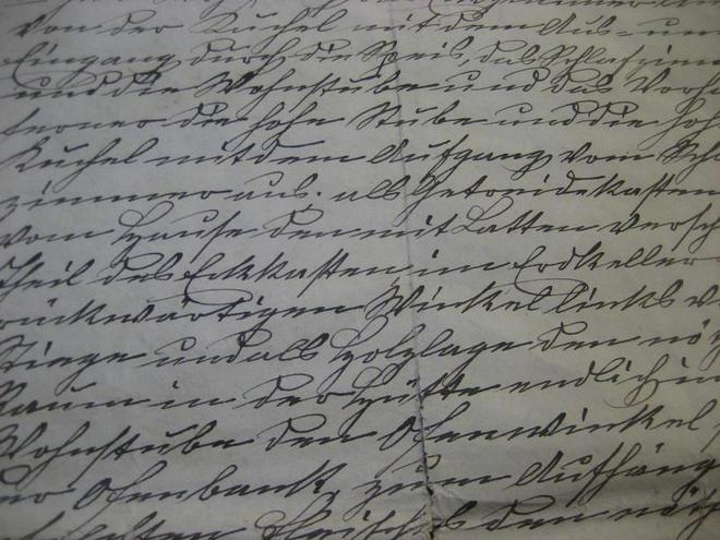 Schriftkurse im Bartlhaus in Pettenbach