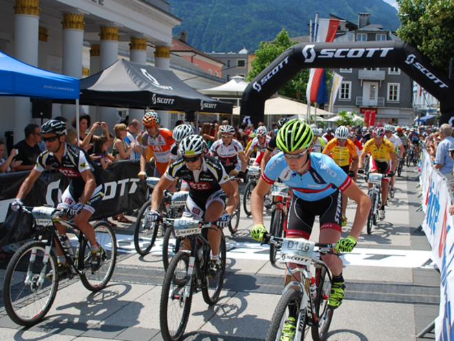 Salzkammergut Trophy - Start Strecke D in Bad Ischl