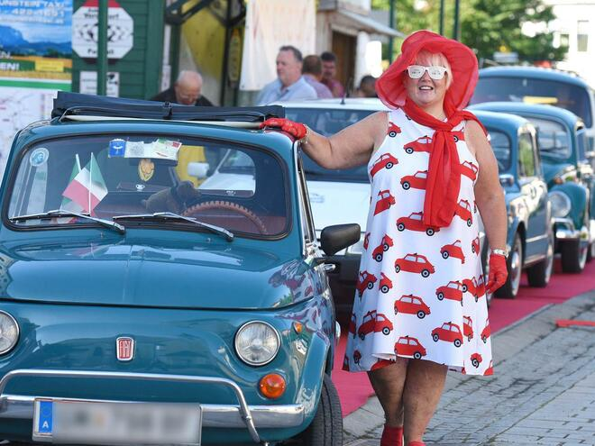 5. Internationales Cinquecento Treffen in Vorchdorf im Almtal
