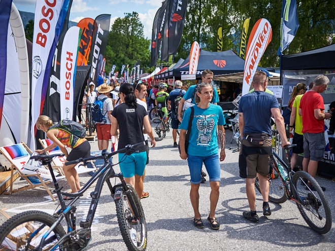 Bosch eMTB-Testival and bike Exhibition
