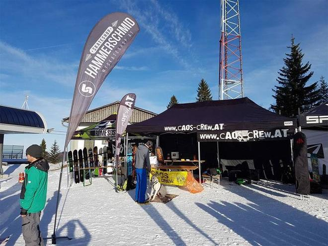 CAOS Winter Opening in the skiresort Kasberg