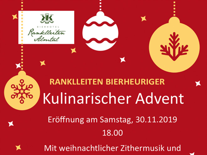 Kulinarischer Advent