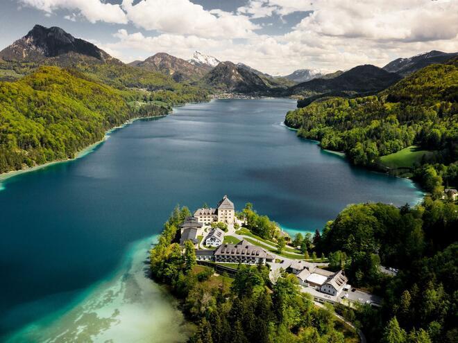 Aussenaufnahme Winter Schloss Fuschl Resort & SPA (© Schloss Fuschl Betriebe GmbH)